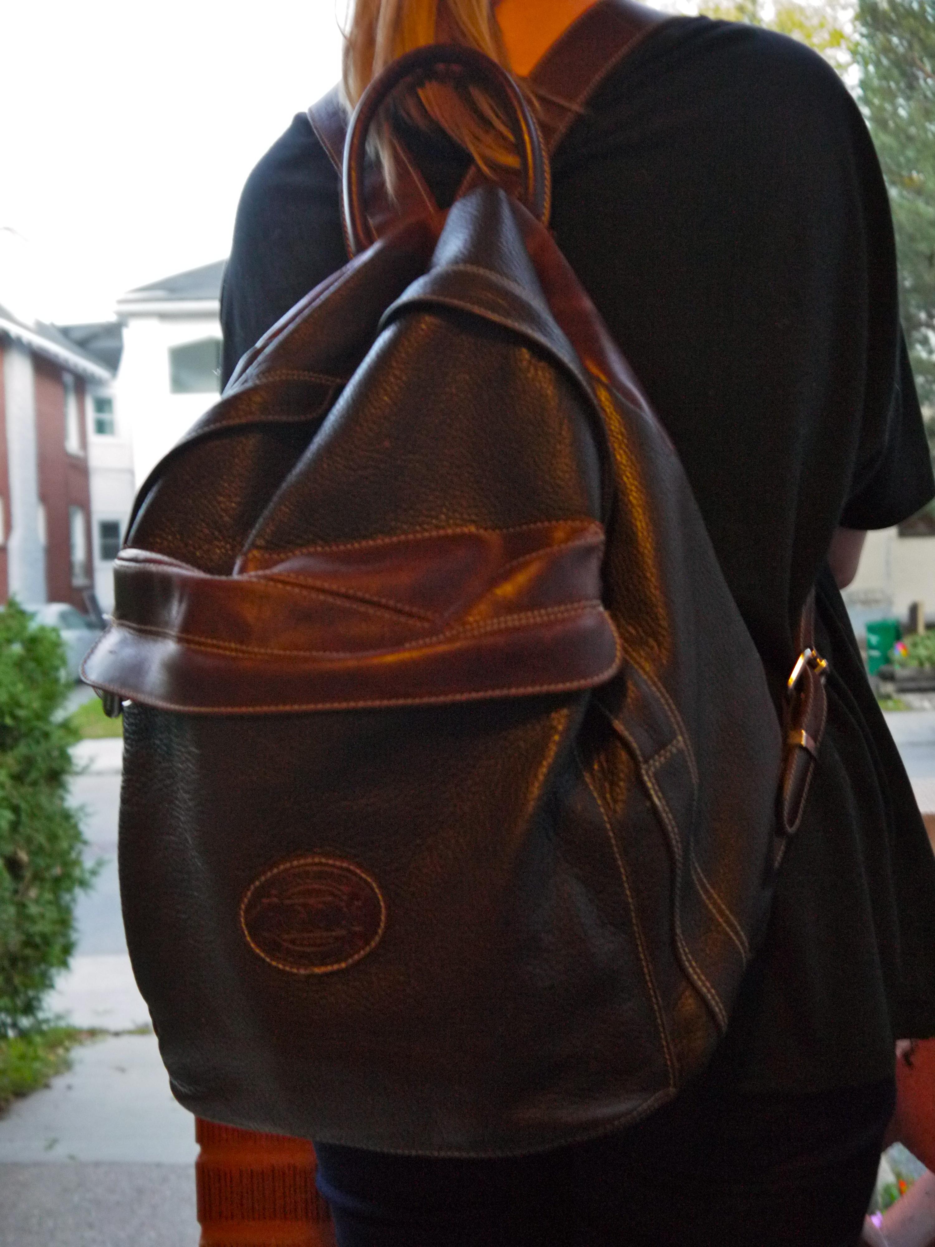 7 First Week Fresh: The Backpack- Leather | Twenty Bliss